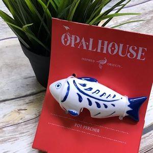 Opalhouse Pot Percher Fish buddy new